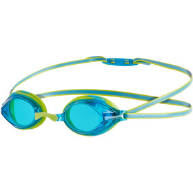 speedo Vengeance Goggles Kinder lime punch/japan blue